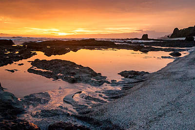 Up201209 Photograph - Playa Santa Teresa Sunset by Josh Whalen