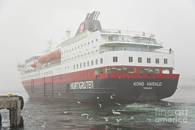 Harald Photograph - Post Ship  by Heiko Koehrer-Wagner