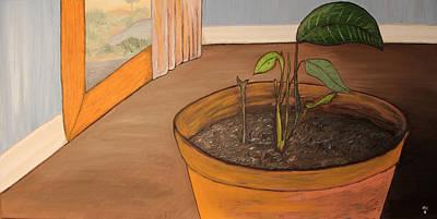 Pot Print by Oscar Cielos