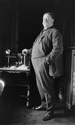 President William Howard Taft 1857-1930 Print by Everett
