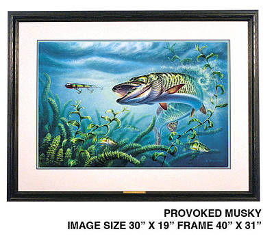 Provoked Musky Original by JQ Licensing