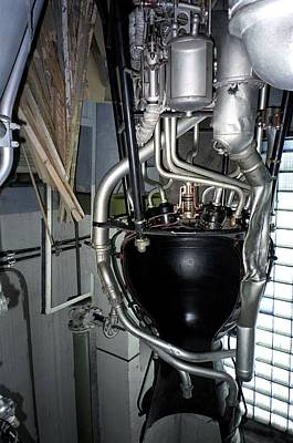 V2 Rocket Photograph - R-1 Soviet Rocket Engine by Detlev Van Ravenswaay