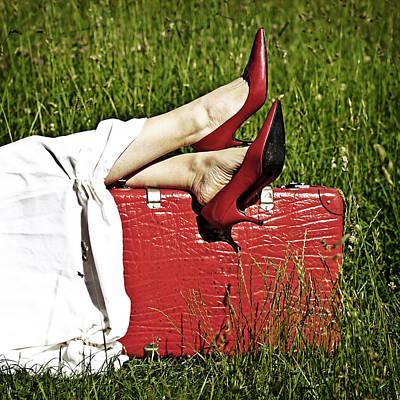 Relax Print by Joana Kruse