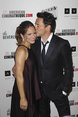 Robert Downey Jr., Susan Downey Print by Everett