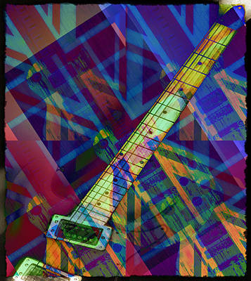Music Digital Art - Rock And Roll by Bill Cannon
