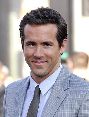 Ryan Reynolds At Arrivals For Green Print by Everett