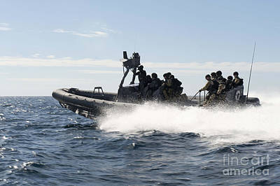 Inflatable Photograph - Sailors Transit The Atlantic Ocean by Stocktrek Images