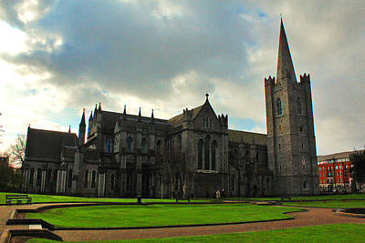 Medieval Temple Photograph - Saint Patrick's Cathedral by Artistic Photos