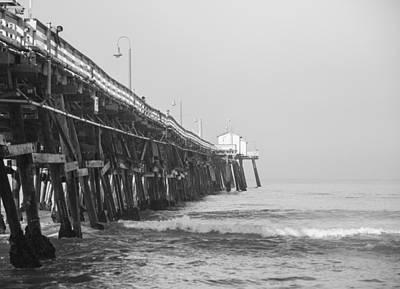 Clemente Photograph - San Clemente Pier by Ralf Kaiser
