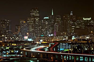 San Francisco At Night Original by Lucas Tatagiba