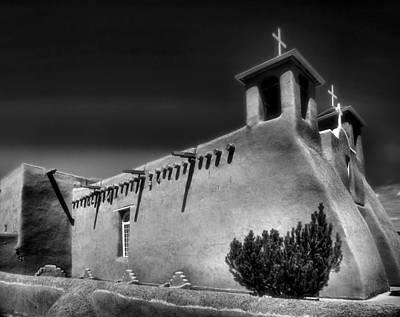 San Francisco De Asis Church Iv Print by Steven Ainsworth