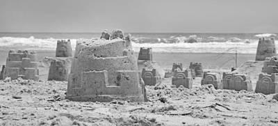 Ti Photograph - Sandcastle  by Betsy Knapp