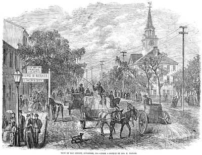 Savannah, Georgia, 1867 Print by Granger