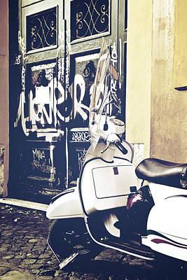 Youthful Photograph - Scooter by Joana Kruse