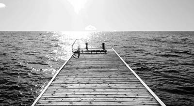 Sea Jetty Print by Smallfort Photography Collection