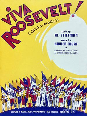 Sheet Music Cover, 1942 Print by Granger