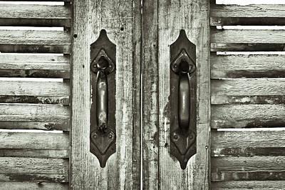 Shutters Print by Tom Gowanlock