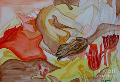Carolinestreet Painting - Siesta by Caroline Street
