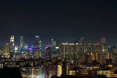 Singapore Photograph - Singapore City by Ng Hock How