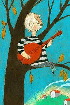 Singing Song Print by Jenny Meilihove