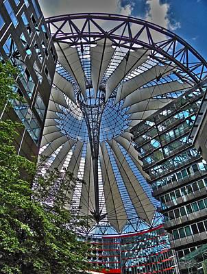 Architektur Photograph - Sony Center - Berlin by Juergen Weiss