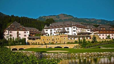 Spa Resort A-rosa - Kitzbuehel Print by Juergen Weiss