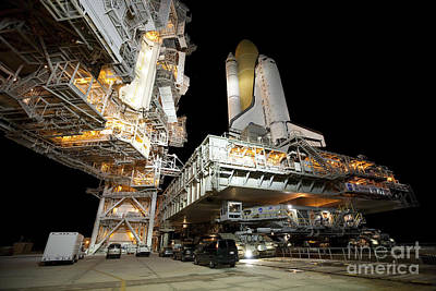 Space Shuttle Discovery Print by NASA/Amanda Diller