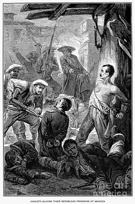 Spain: Second Carlist War Print by Granger