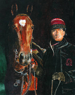 Horse Painting - Special Bond by Arline Wagner