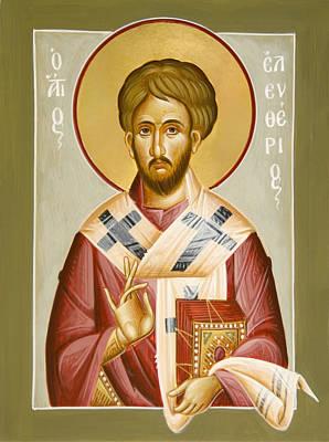 St Eleftherios Print by Julia Bridget Hayes
