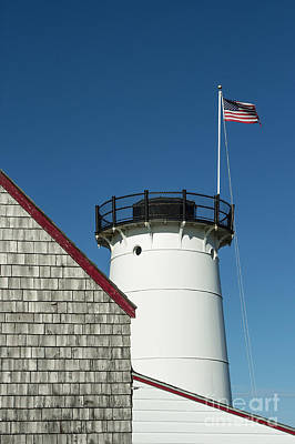 Stage Harbor Lighthouse Print by John Greim