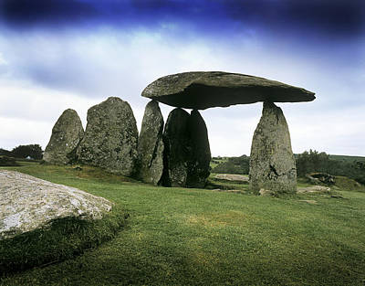 Megalith Photograph - Standing Stones by Chris Madeley