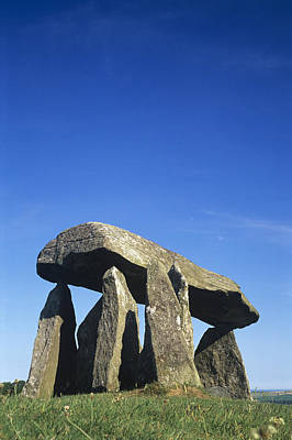 Megalith Photograph - Standing Stones by Duncan Shaw