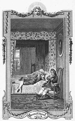 Sterne: Tristram Shandy Print by Granger