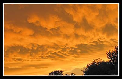 Strange Clouds II Print by Debbie Portwood