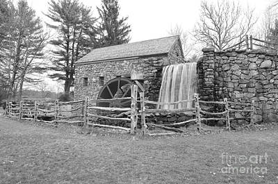 Sudbury Grist Mill  Print by Catherine Reusch  Daley