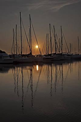 Sunset Print by Joana Kruse