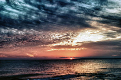 Sunset Print by Stelios Kleanthous