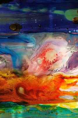 Pause Painting - Symphony - Five by Mudrow S