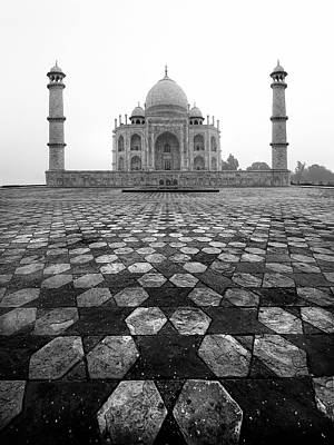 Islamic Photograph - Taj Mahal by Nina Papiorek