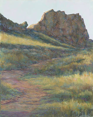 Devils Backbone Painting - Take A Hike by Billie Colson