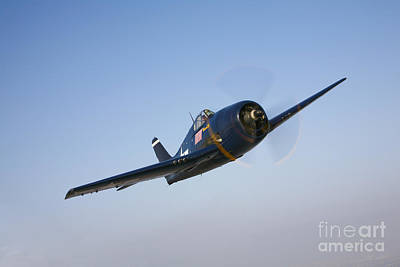 F6f Photograph - The Commemorative Air Forces F6f-5 by Scott Germain
