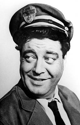 Jackie Gleason Photograph - The Honeymooners, Jackie Gleason by Everett