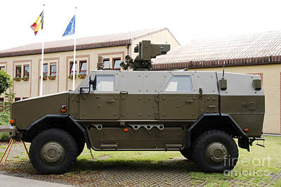 The Multi-purpose Protected Vehicle Print by Luc De Jaeger