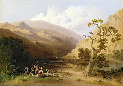 Manifest Destiny Painting - The Pioneers by Joshua Shaw