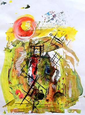 Painting - The Sunshine by Paul Pulszartti