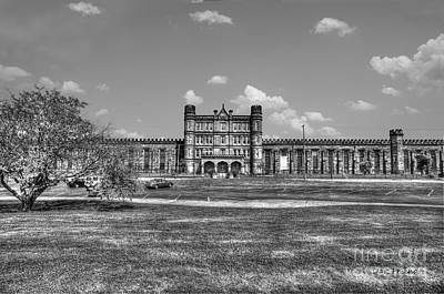 The West Virginia State Penitentiary Front Print by Dan Friend