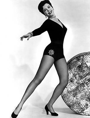 1946 Movies Photograph - Thrill Of Brazil, Ann Miller, 1946 by Everett