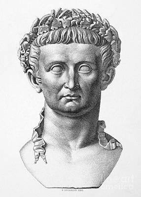 Tiberius (42 B.c.- 37 A.d.) Print by Granger