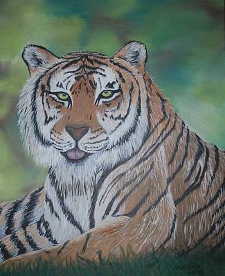 Tiger Print by Shadrach Ensor